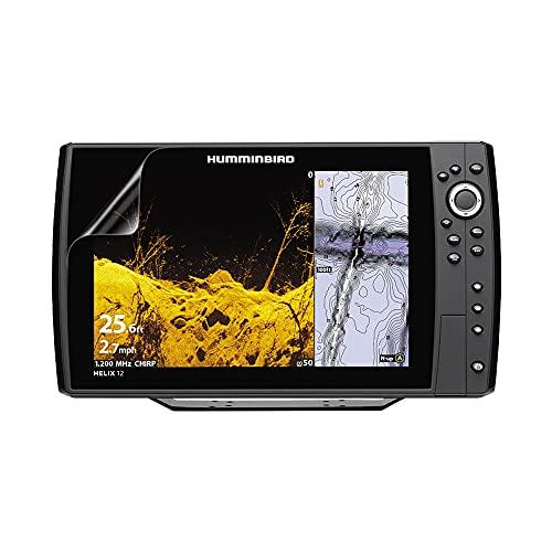 셀리 같은 생생한 보이지 않는 광택 HD 화면 보호기 필름 HUMMINBIRD 나선 12 G2N (2 팩)