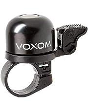 Voxom Fietsbel Kl1 bel, zwart, diameter 30 mm
