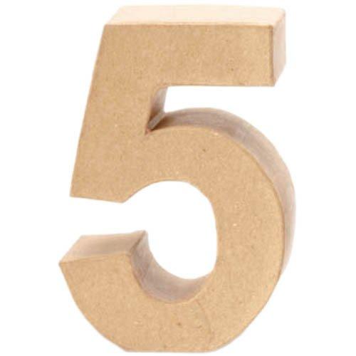 Creative P - Nombre 5, 17, 5x5, 5cm [Jouet]
