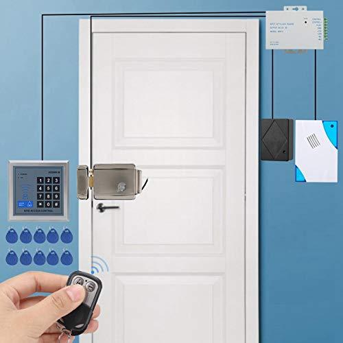 DAUERHAFT Control Remoto Sistema de Control de Acceso a la Puerta Control de Acceso con Cerradura Resistente, para hoteles