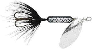 Yakima Bait Wordens Original Rooster Tail 1/4oz Spinner Lure, 3 Pack- Black