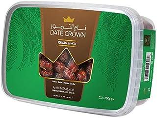 Date Crown Khalas Tub Dates Box, 750 g