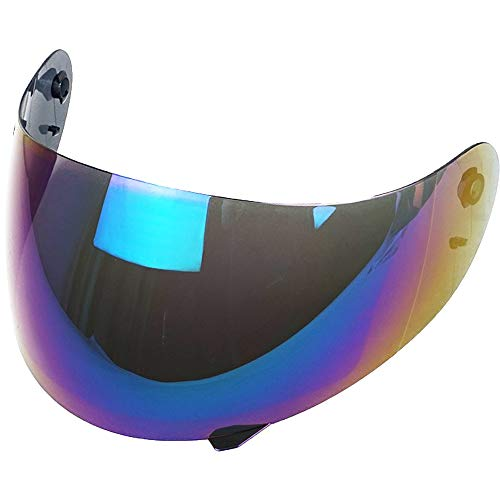 Visera Agv K3 K4 K4 EVO Trasparente Oro Azul Fume' Espejo Iridium Aftermarket ( Iridium )