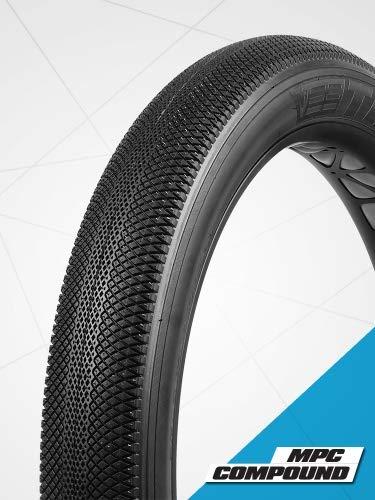 Classic Cycle Vee Rubber Speedster Reifen 20 x 4 Zoll reinschwarz