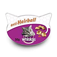 Delicious two-component snacks with a delicious crispy shell and an irresistibly soft core With a carefully selected blend of fibre that helps reduce the formation of hairballs when feeding daily Made with delicious chicken, just as your cat loves Le...