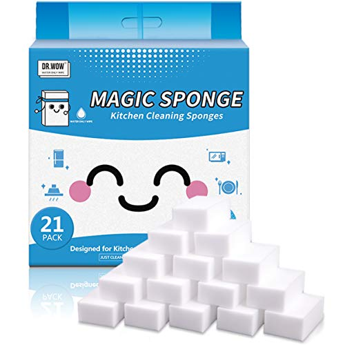 Dr.WOW 21 Pack Extra Thick Magic Sponge,Great...