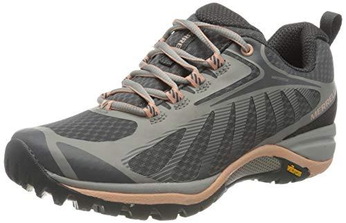 Merrell Siren Edge 3 WP, Zapatillas para Caminar Mujer, Multicolor (Paloma/Melocotón), 37 EU