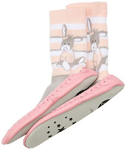 Sterntaler Mädchen Hüttenschuh Emmi Girl Flache Hausschuhe, Pink (Zartrosa 707), 22 EU