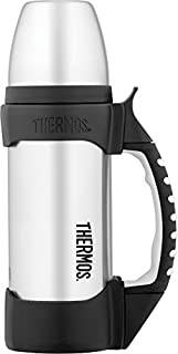 Thermos The Rock Vacuum Insulated 1 Liter Beverage Bottle, Stainless Steel