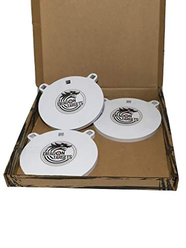 Dragon Targets 8' Gong AR500 Steel Shooting Target 1/2' Thick 3 Pack