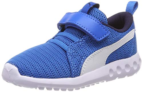Puma Unisex-Kinder Carson 2 V Inf Sneaker, Blau (Indigo Bunting White), 22 EU