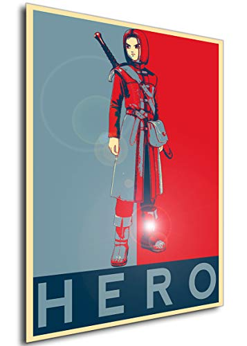 Instabuy Poster - Propaganda - Dragon Quest XI - Hero Variant Manifesto 70x50