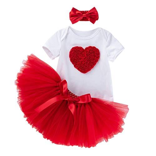 Kids Meisjes Prinses Jurk Baby Korte Mouw Romper Bodysuit+ Tule Rok voor Klassieke Dans Onderrok Pasgeboren Onesets Grappig Katoen Tutu Jurk 0-24 Maanden