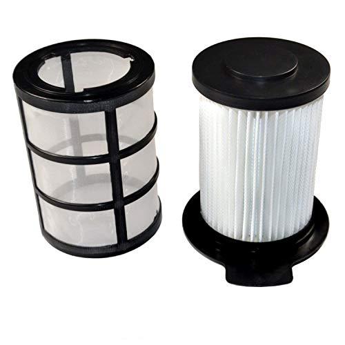 HQRP Central HEPA Filter for Vax Performance V-091, V-091C, V-091X, V-091S Bagless Cylinder Vacuum Cleaner V091 + HQRP Coaster