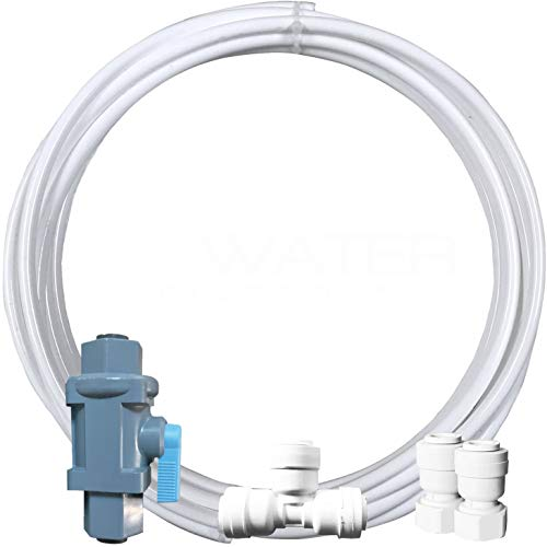 Water Line Hookup and Installation Kit for Refrigerators and Ice Makers