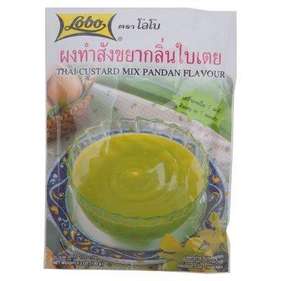 Lobo, Lobo Thai Custard Dessert Mix Pandan Flavor 120G