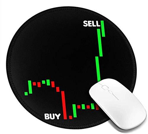 Mauspad, Aktienhandel Kaufen Verkaufen Mauspad, Rutschfeste Gaming-Maus aus Gummi, Rechteckige Office-Mauspads für Computer-Laptops