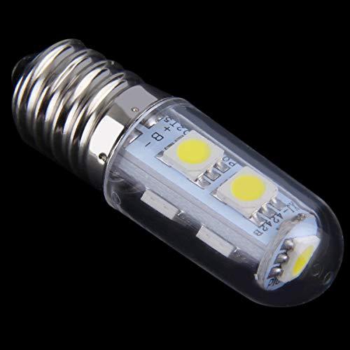 Nihlsfen 1x Mini E14 1W 7 LED 5050 SMD Naturaleza/Blanco cálido Frigorífico Bombilla Lámpara 110V / 220V Ángulo de Haz 360 °