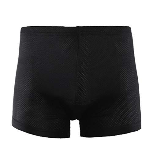 Unisexe Noir Vélo Pantalon Solide Cosplay Confortable Sous-Vêtements Éponge Gel 5D Rembourré Vélo Pantalon Court Cyclisme Shorts