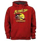 Baywatch Amerika Serie A Team Knight Rider Oldschool Lifeguard - Sudadera con capucha, color rojo rojo XXL