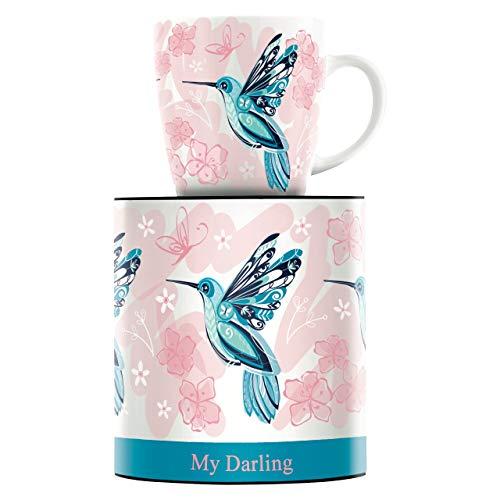 RITZENHOFF My Darling Kaffeebecher von Marie Peppercorn, aus Porzellan, 300 ml, mit trendigen Motiven