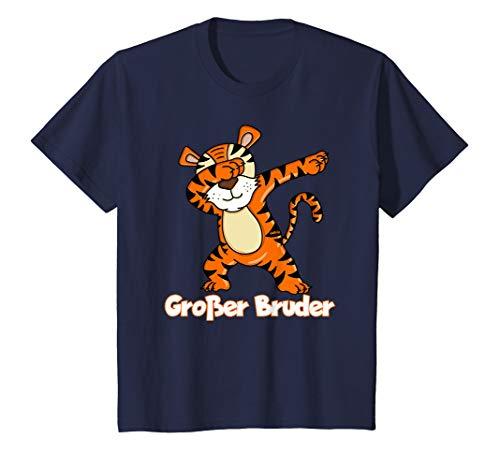 Kinder Großer Bruder T-Shirt Dabbing Tiger Shirt Geschenk T-Shirt