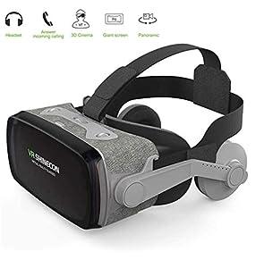 Occhiali VR 3D Visore Realtà Virtuale Occhiali Headset Virtual Reality 3D Film Glasses per iPhone Android Smartphones Adatto a Smartphone da 4-6 Pollici - Alta qualità