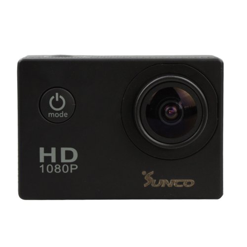 DREAM 2 SJ4000 Helmet Camera Full HD 1080p 12MP Underwater Cameras With 170 Degree Wide Angle and 1.5 -inch High Definition Screen Video Camera (Black)