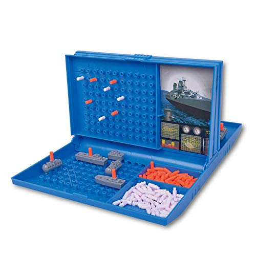 Dynamicoz Spielzeug & Spiele Seeschlacht-Brettspiel, Schlachtschiff-Strategie-Strategie-Brett-Seeschlacht-Spiel, Flottenmanöver, Traditionelle Strategie-Brettspiele Mit Schlachtschiffen, U-Boot- Und