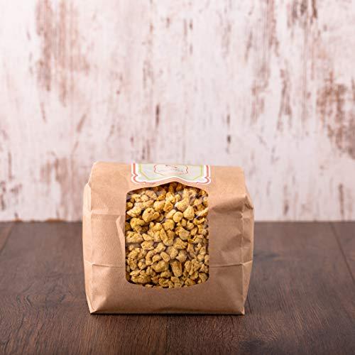 süssundclever.de® Bio Sojabrocken | Soja geschnetzeltes | grob | 800 g | plastikfrei und ökologisch-nachhaltig abgepackt