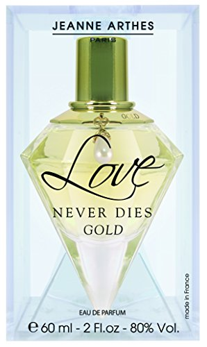 Jeanne Arthes Eau de Parfum LOVE NEVER DIES Gold 60 ml