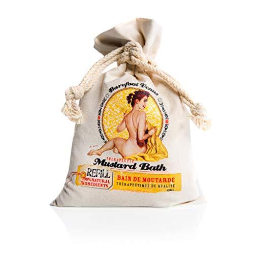 Barefoot Venus Epsom Salt Bath Soak with 100% Natural Oils 1000 g (Mustard Bath)