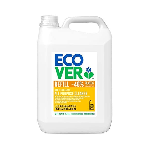 Ecover All Purpose Cleaner Lemongrass & Ginger Refill, 5L