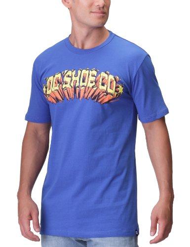 DC Shoes Launch Ramp - T-Shirt - Uni - Coton - Homme - Bleu (Olyblu) - L
