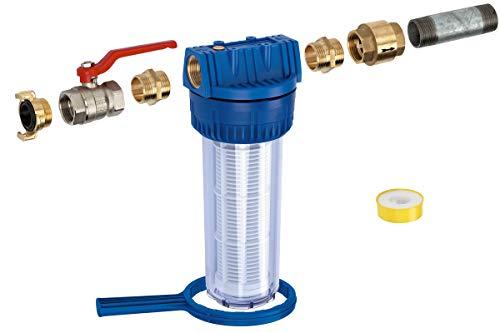 Metabo 620353 380 – HWW Pumpenmontageset MSS 380-HWW M. ARMAT, Blau, Transparent