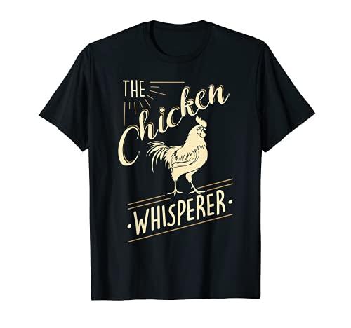 The Chicken Whisperer Funny Chicken Lover Farming T-Shirt