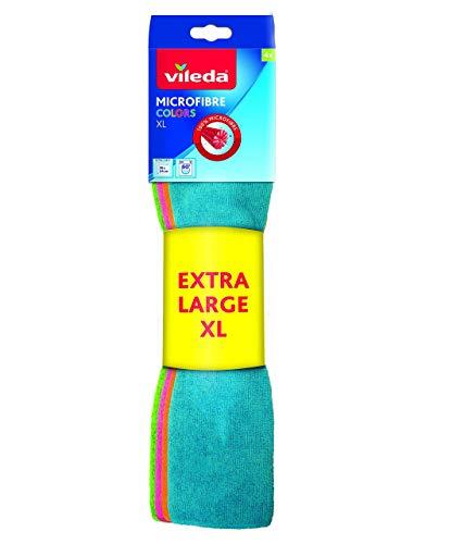 Vileda Allzwecktuch XL Microfasertuch 4er Sparpack