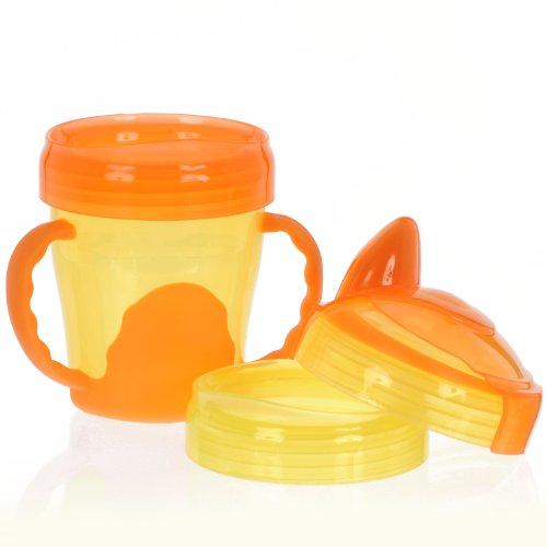 Vital Innovation 492070 - Tazza'My first 3-step', 220 ml, arancione