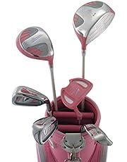 WORLD EAGLE(ワールドイーグル) 101 レディース ゴルフ ハーフセット 右用 ピンク