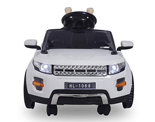 SABWAY Coche electrico Style Rover para Niños y Bebes con Mando Mini Deportivo 1 Asiento y MP3 USB