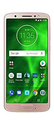 "Motorola Moto G6 Factory Unlocked Phone - 5.7"" Screen"