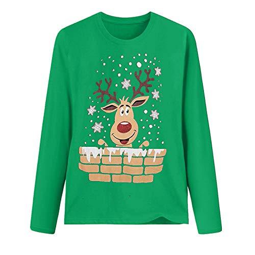 Trajes a Juego para la Familia, Sudadera de Navidad con Lunares con Estampado 3D para niño, Jersey a Juego...