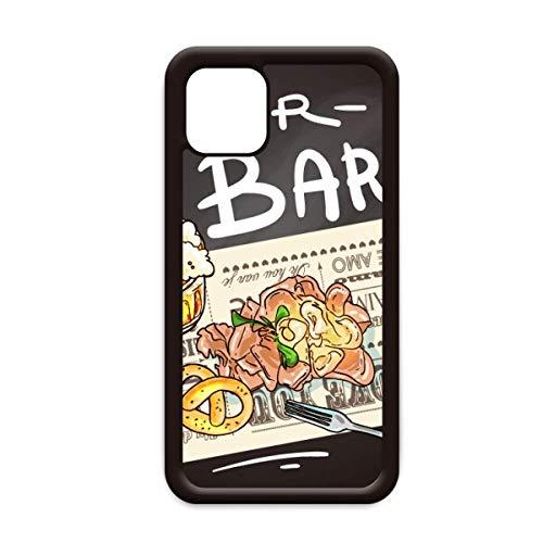 Bier Bar Gourmet Brood Frankrijk voor Apple iPhone 11 Pro Max Cover Apple mobiele telefoonhoesje Shell, for iPhone11
