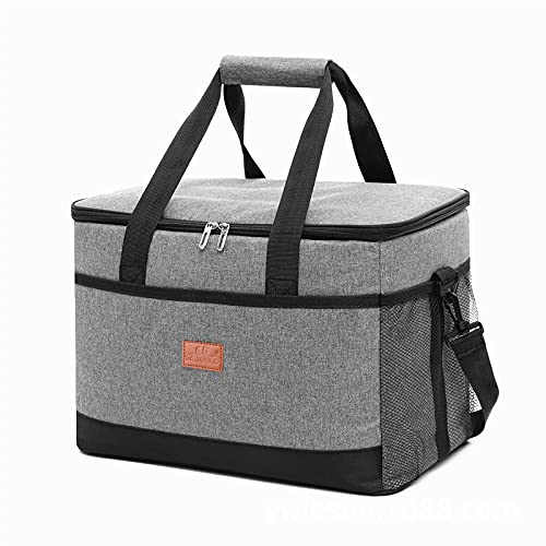 Tylyund Picnic basket Large-capacity cooler bag, thick Oxford cloth picnic bag, car ice pack, waterproof lunch bag can be customized