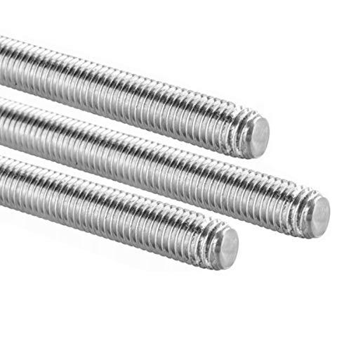 rg-vertrieb Gewindestange 1000 mm DIN 975 976 4.8 Gewindestangen Gewindestab galvanisch verzinkt 1m (M27)