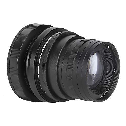 Hopcd 50-mm-F1.7-Tilt-Shift-Objektiv F1.7-F22 Optisches E-Mount-Vollformat-Glasobjektiv für Sony A9 A7-Serie spiegellose Kamera