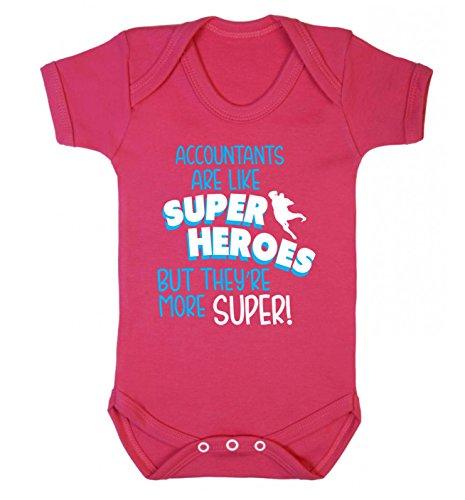 Flox Gilet créatif pour bébé avec Inscription en Anglais « Respontants are Like Superheroes But They More Super » - Rose - XS