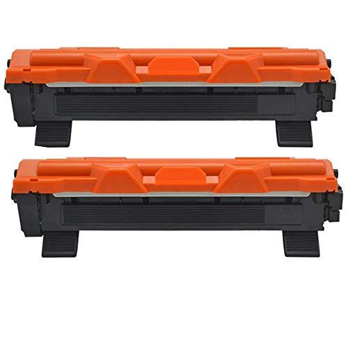KATRIZ 2 stuks vervanging voor Brother TN1050 TN-1050 tonercartridge compatibel met HL-1110 DCP-1510 HL-1210W DCP-1610W HL-1112 MFC-1810 HL-1212W MFC-1910W DCP-1612W DCP-1512 printer