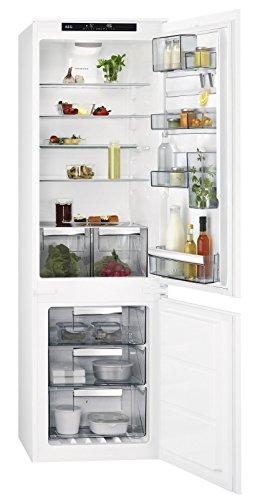 AEG SCE81824TS Intégré 253L A++ Blanc réfrigérateur-congélateur - Réfrigérateurs-congélateurs (253 L, SN-T, 39 dB, 10 kg/24h, A++, Blanc)