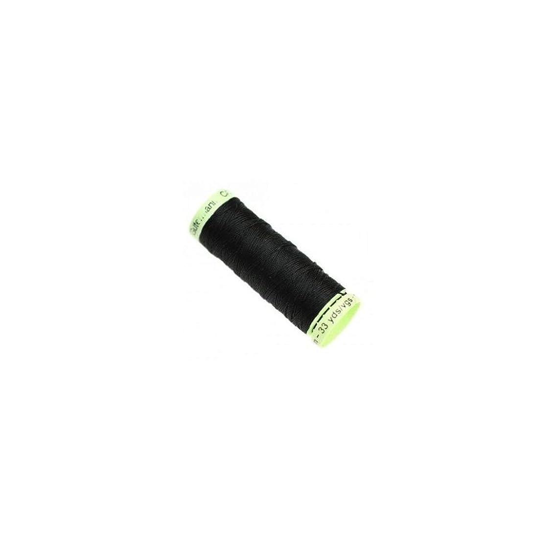 Gutermann Top-Stitch Thread, Polyester, Black, 30 m by Gutermann